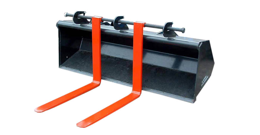Tractor Bucket Forks : Quick attach bucket forks northstar attachments