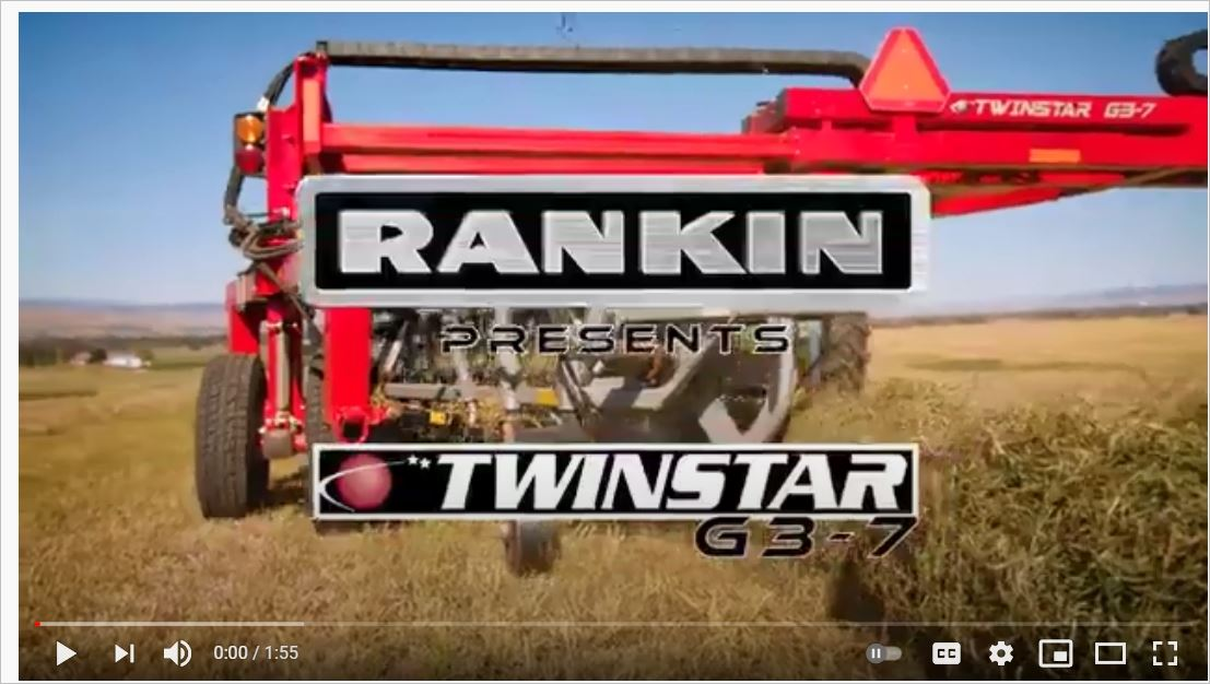 Video: Twinstar Hay Rake