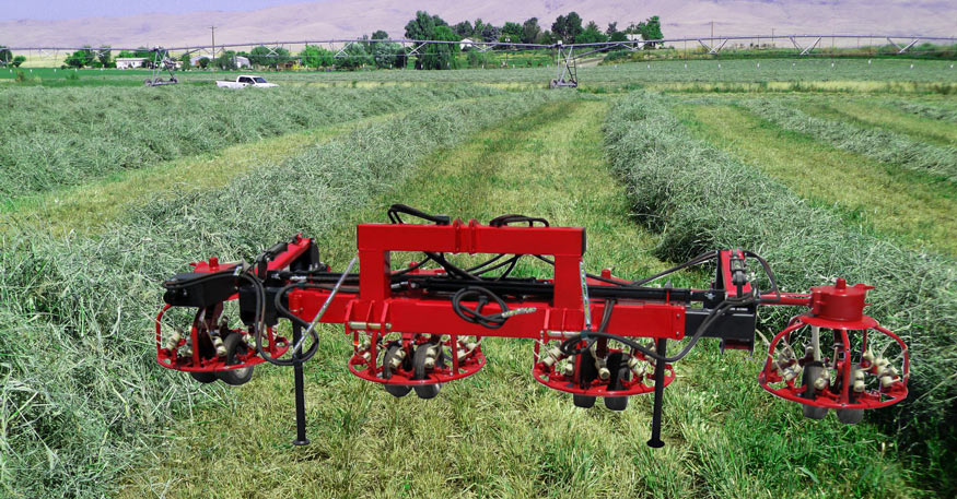 Twin-Tach Hay Tedder Carrier