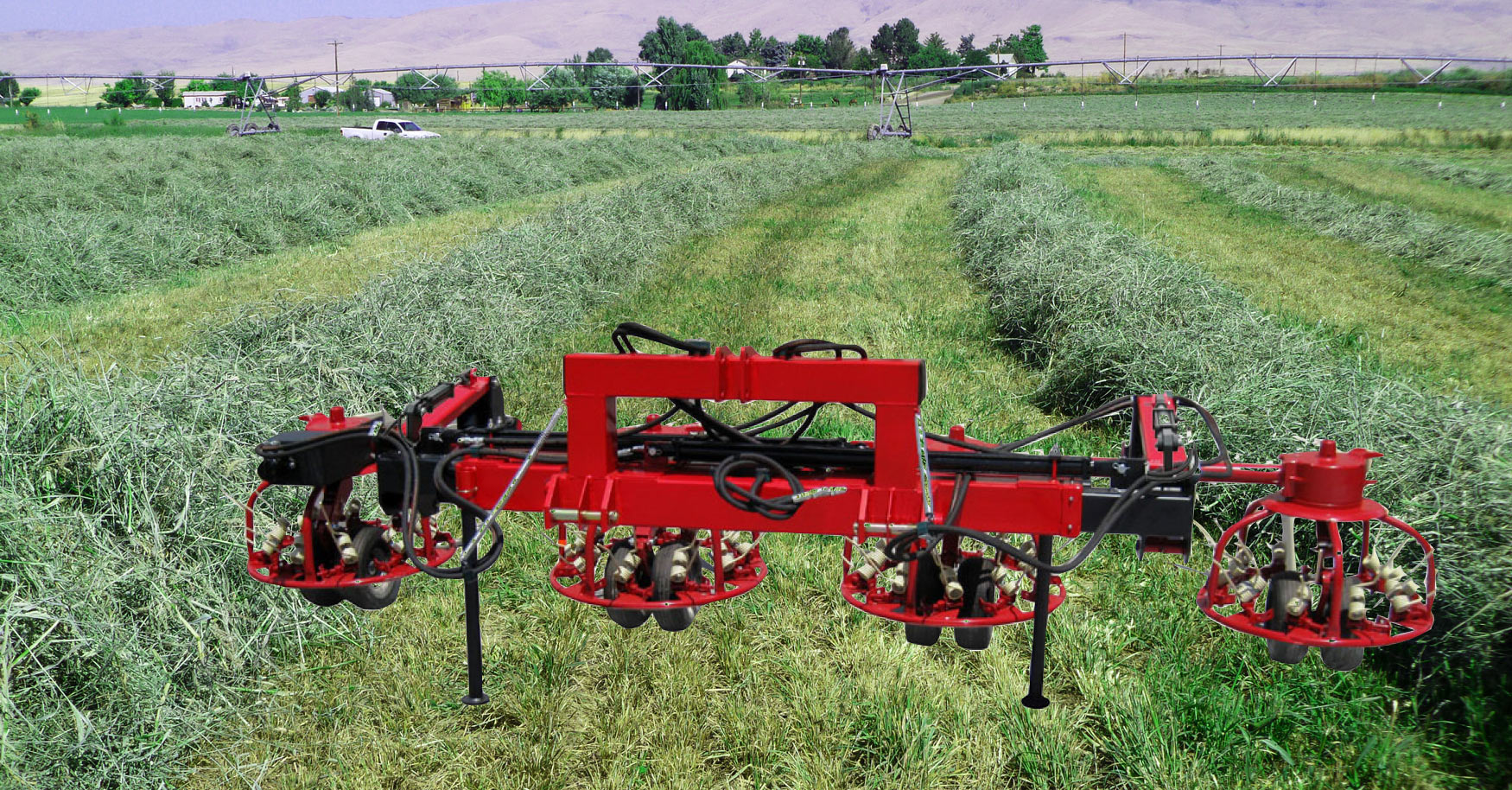 Twin-Tach Hay Tedder Carrier | Northstar Attachments