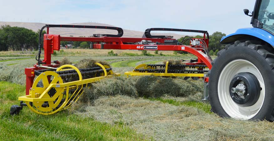 Twinstar Generation 2 & 3 6-Bar Hay Rakes