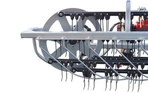 Baskets Equipped with Optional Full Tines